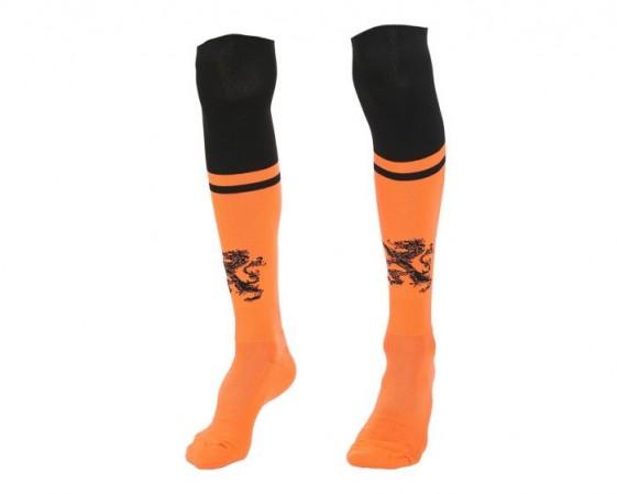 Nederlands elftal thuis kousen oranje-zwart Kids-Senior 2020-21