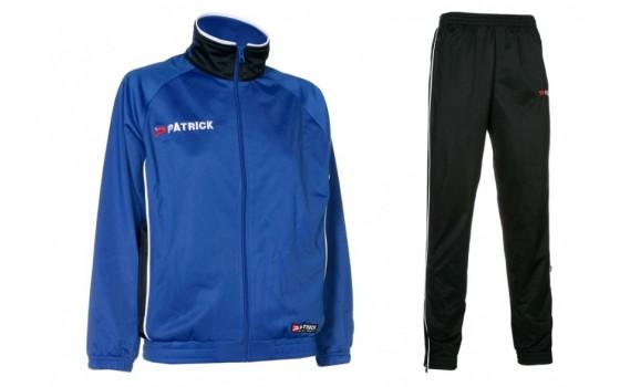 Patrick Girona trainngspak blauw
