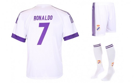 Real Madrid Fan tenue Ronaldo thuis 2016-17