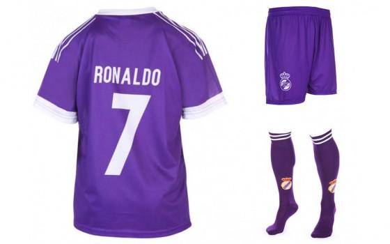 Real madrid uit Fan tenue ronaldo 2016-17