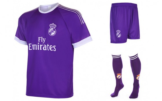 Madrid uit Fan tenue 2016-17