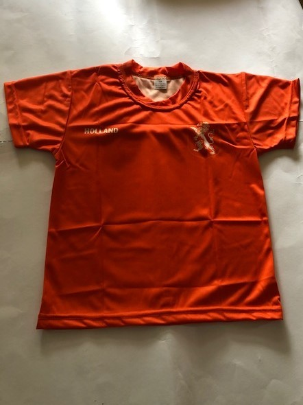 Nederlands elftal Oranje shirt met eigen naam 2020
