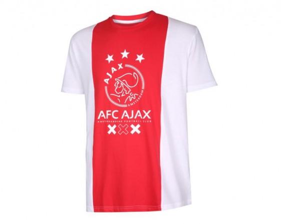 Ajax T-shirt logo kids katoen met eigen naam 2018-19