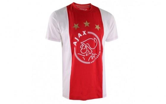 Ajax T-shirt logo kids met eigen naam 2018-19