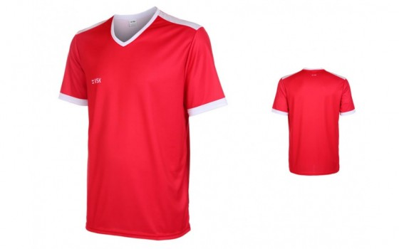 VSK Fly voetbalshirt korte mouw met eigen naam 2017-18
