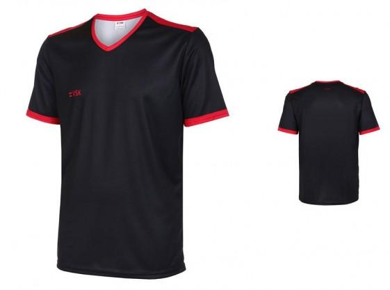 VSK Fly voetbalshirt korte mouw met eigen naam 2020-21 zwart/rood