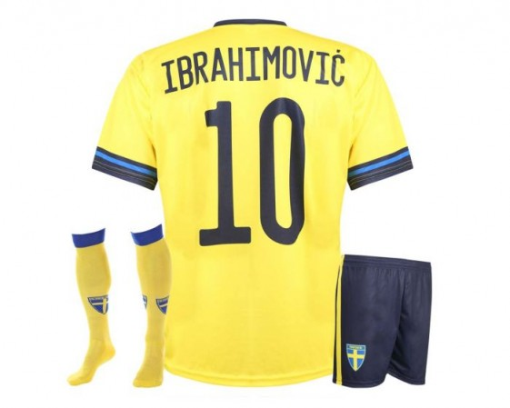 ZWEDEN voetbaltenue Ibrahimovic EK 2021