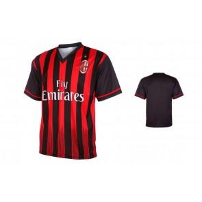 Milan Fan shirt met eigen naam 2016-17