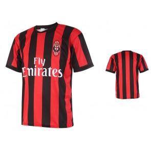 Milan thuisshirt met eigen naam 2017-18