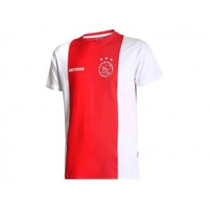 Ajax T-shirt met eigen naam Senior katoenen