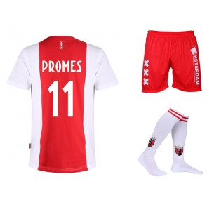 Tenue Ajax Logo Promes Katoen Kids - Senior