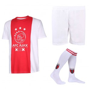 Ajax voetbaltenue thuis eigen naam logo Senior  katoenen