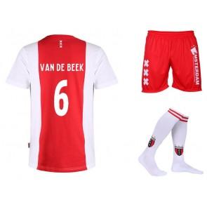 Ajax voetbaltenue van de Beek Katoen Kids - Senior