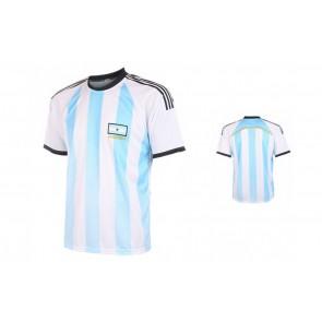 Argentinie Fan shirt met eigen naam 2016-18