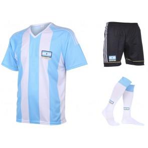 Argentinie thuis tenue met eigen naam 2016-18
