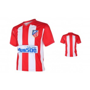 Atletic Madrid Fan shirt met eigen naam 2016-17