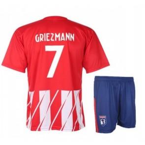 Atletico Madrid thuis shirt + broek griezmann 2017-18
