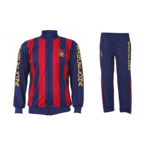Barcelona-trainingspak met Naam en Nummer