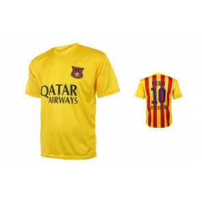 Barcelona voetbalshirt Messi Uit seizoen 2015-16