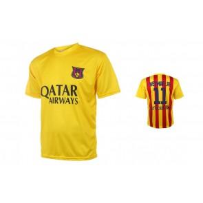 Barcelona voetbalshirt Neymar Uit seizoen 2015-16