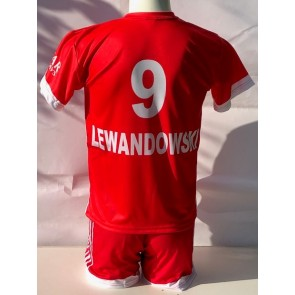 Bayern munchen voetbalshirt Lewandowski 2021-2022