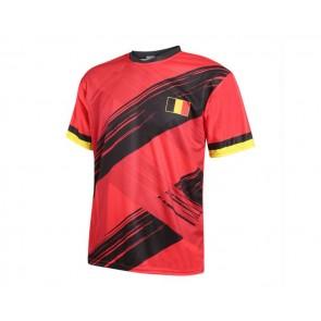 Belgie voetbalshirt met eigen naam 2020-21