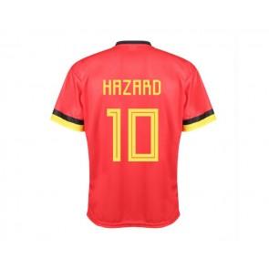 Belgie Voetbalshirt thuis Hazard 2020-21 Kids-Senioren