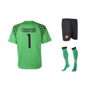 Belgie keepers tenue Courtois WK 2016-18