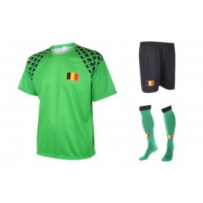 Belgie keepers tenue met naam en nummer 2016-18