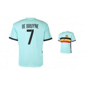 Belgie uitshirt de Bruyne 2016-18