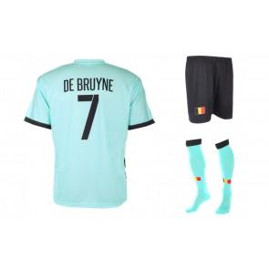 Belgie uit tenue de Bruyne 2016-18