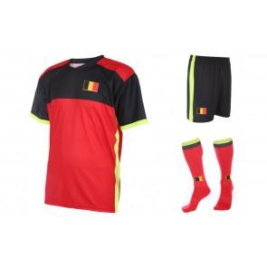 Belgie thuis tenue met naam en nummer 2016-18