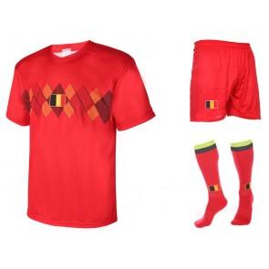 Belgie thuis tenue met eigen naam 2018-20