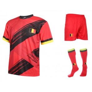 Belgie voetbal tenue met eigen naam 2020-2021