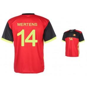 Belgie thuisshirt Mertens 2016-18