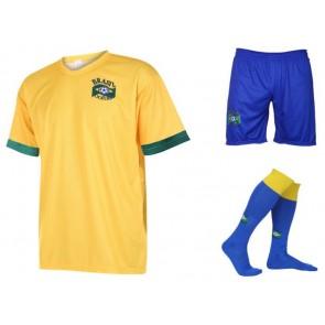 Brazilie thuis tenue met eigen naam 2018-20
