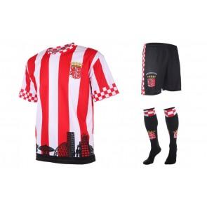 Eindhoven Fan tenue met naam en nummer 2018-19 setje shirt en broek
