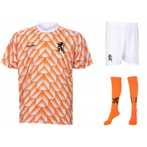 Nederlands elftal EK88 tenue met naam en nummer 1988 (super kwaliteit)