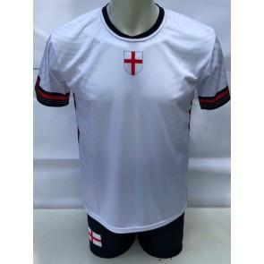 Engeland voetbaltenue EK 2021 -22 met eigen naam