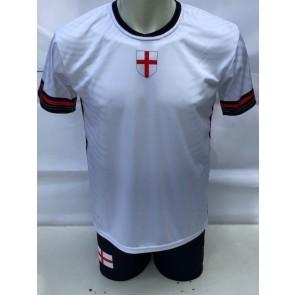 Engeland voetbalshirt met eigen naam en nummer EK 2021-2022