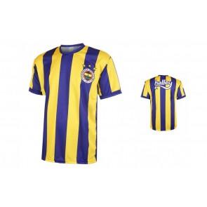 Fenerbahce thuis fanshirt met eigen naam 2016-17