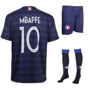 Frankrijk Voetbaltenue Mbappe thuis  Kids-Senior 2020-21