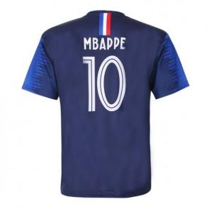 Frankrijk  Mbappé thuisshirt 2018-20