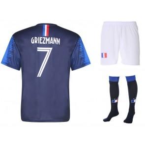 Frankrijk voetbaltenue Griezmann 2018-20