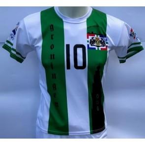 Groningen voetbalshirt met Robben seizoen 2020-21