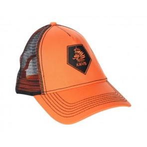 KNVB cap oranje met zwarte leeuw