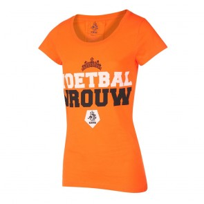 KNVB T-shirt Dames Voetbal Vrouwen 2019-20