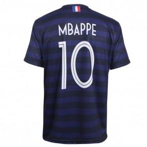 Frankrijk voetbalshirt Mbappe thuis Kids-senior 2020-21