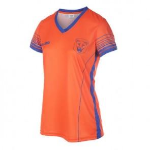 Nederlands elftal Dames voetbalshirt met eigen naam