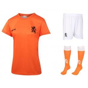 Nederlands elftal Dames Thuis tenue met spelersnaam 2019-20